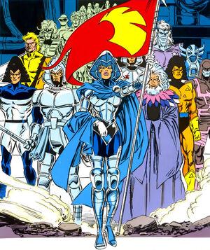 Shi'ar (Race) from X-Men Messiah Complex - Mutant Files Vol 1 1 001