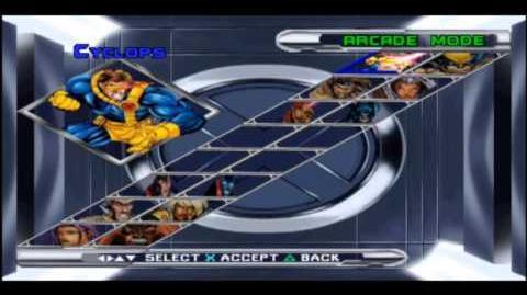 Sector VI - Trucos - X-Men Mutant Academy 2