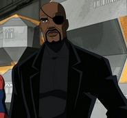 Spiderman- Nick Fury