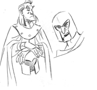 Early Drawing- Magneto