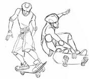 DrawEvan- skate II