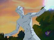 Iceman uses his powers