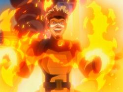 X-Men Evolution Pyro