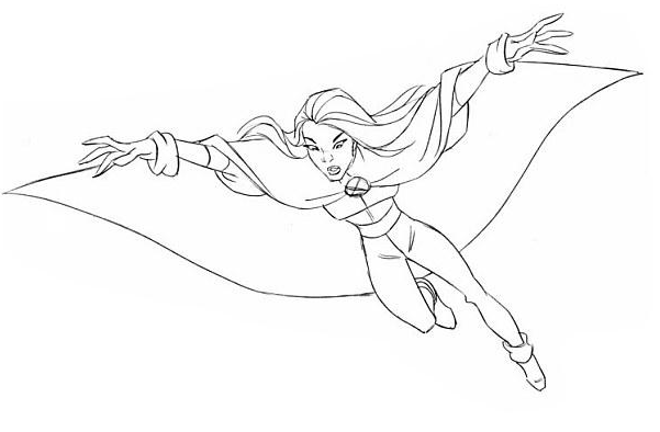 Image - DrawStorm- Fly II.png | X-Men Evolution Wiki | FANDOM ...