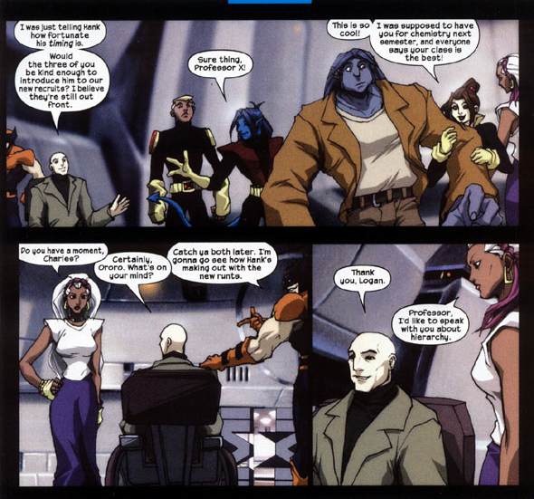 image comic 7 page 4 png x men evolution wiki fandom powered