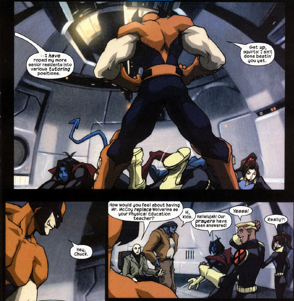 image comic 7 page 3 png x men evolution wiki fandom powered