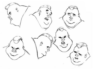 DrawFred- Faces I