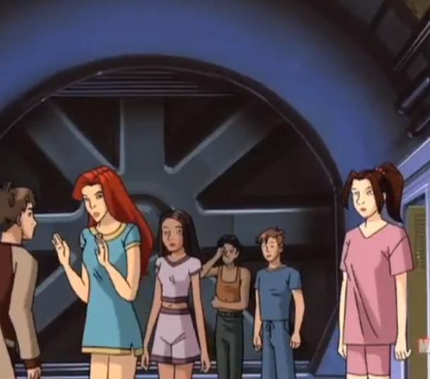 X men evolution new mutants