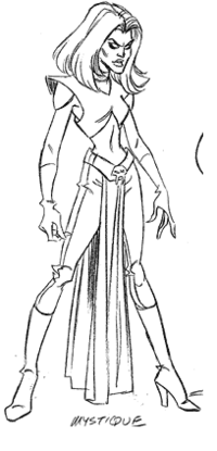 Early Drawing- Mystique
