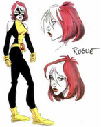Early Drawing- Rogue