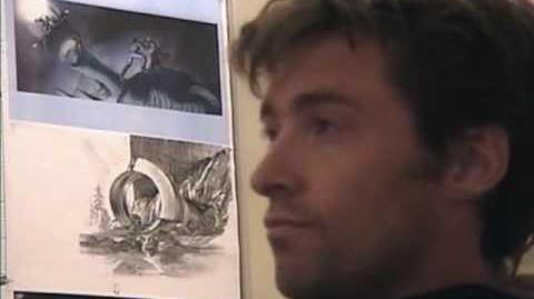 Hugh Jackman auditions for the part of Wolverine in X-men