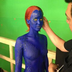 Jennifer Lawrence alias Mystique