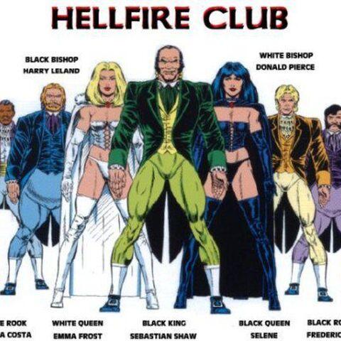 Le Club des Damnés en version Comics.