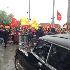 Protestation pour le Vietnam