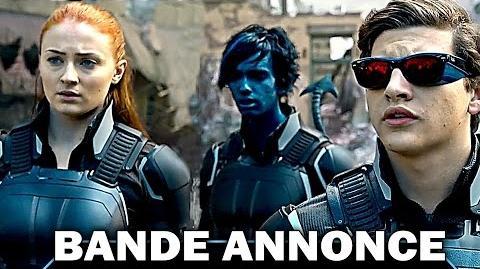 X-MEN Apocalypse BANDE ANNONCE (2016)