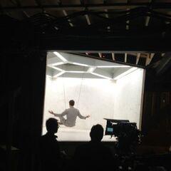 Fassbender en tournage