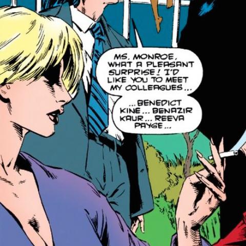 Reeva Payge dans les comics