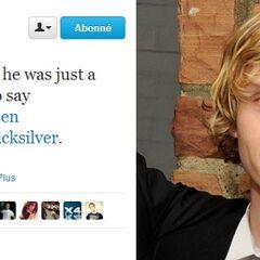 Evan Peters annoncé en tant que Vif D'Argent (le fils de Magnéto)