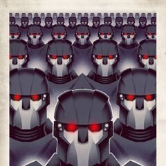 Affiche propagande Trask Industrie