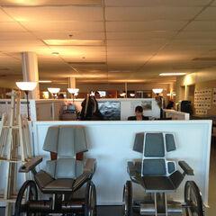 Les chaises des deux Pr. Xavier