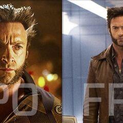 Wolverine aux deux époques