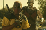 Deadpool (Yellow X Shirt) & Colossus
