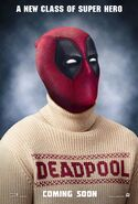 Deadpool Sweater Poster