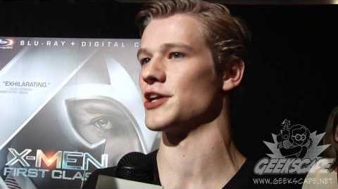 Geekscape Talks to Lucas Till About X-Men- First Class