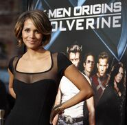 Halle berry x-men origins wolverine movie premiere