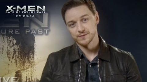 X-Men Days of Future Past X-Men X-Perience James McAvoy