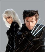 Wolverine and Storm promo