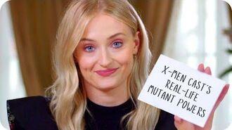 Sophie Turner Reveals Her X-Men Costars' Real Mutant Powers Omaze