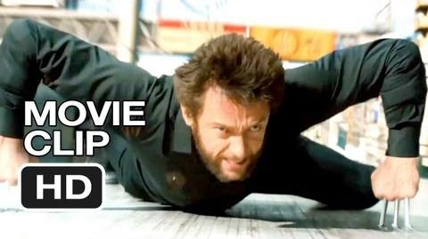 The Wolverine Extended CLIP - Train Fight (2013) - Hugh Jackman Movie HD