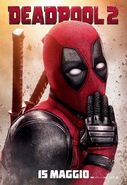 Deadpool Spanish Poster
