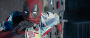 Deadpool Drinking Bleach