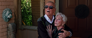 Stan Lee & his wife (X-Men Apocalypse)