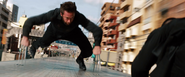 Wolverine Fake Out Jump - Bullet Train Roof