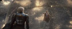 Quicksilver Discovers Magneto (Apocalypse)