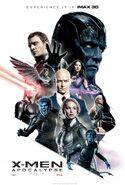 X-Men Apocalype IMAX Poster