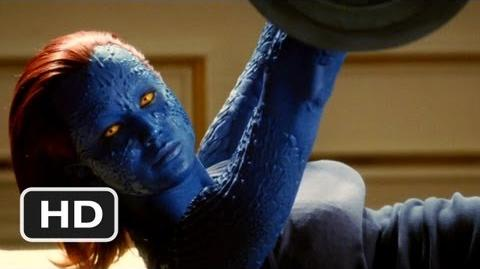 X-Men First Class 4 Movie CLIP - Half Paying Attention (2011) HD