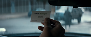 Donald Pierce's Business Card (Alkali-Transigen)