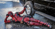 Deadpool pose
