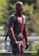 Deadpool set photo 1