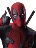 Deadpool (Thumbs Up - Transparent)