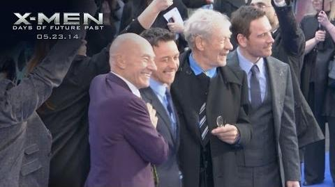 X-Men Days of Future Past London Premiere Yahoo Live Stream Highlights