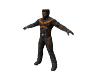 Wolverine character model