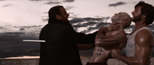 Sabretooth, Deadpool & Wolverine (2 on 1 - Three Mile Island)