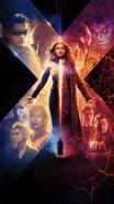 Dark Phoenix Poster Textless
