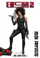 Deadpool 2 Domino Poster