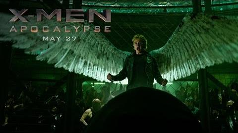 "X-Men Apocalypse ""Angel"" Power Piece HD 20th Century FOX"